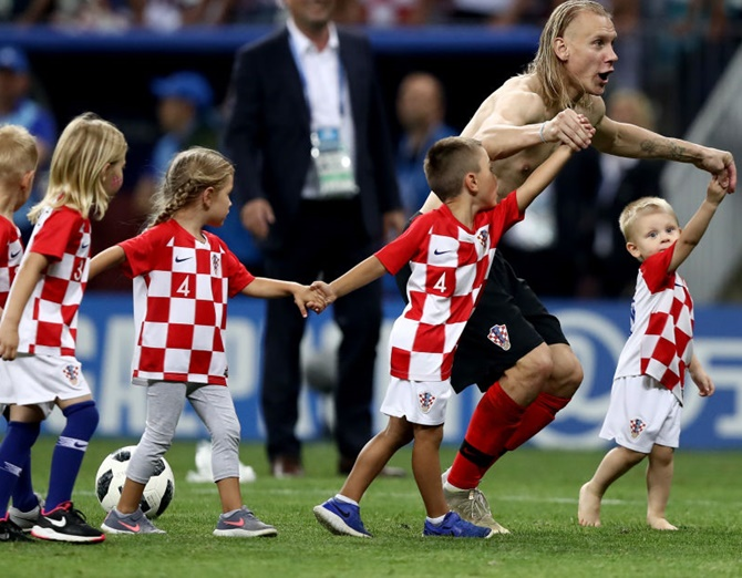 Rediff Sports - Cricket, Indian hockey, Tennis, Football, Chess, Golf - Exhausted Croatia must draw on reserves for France final