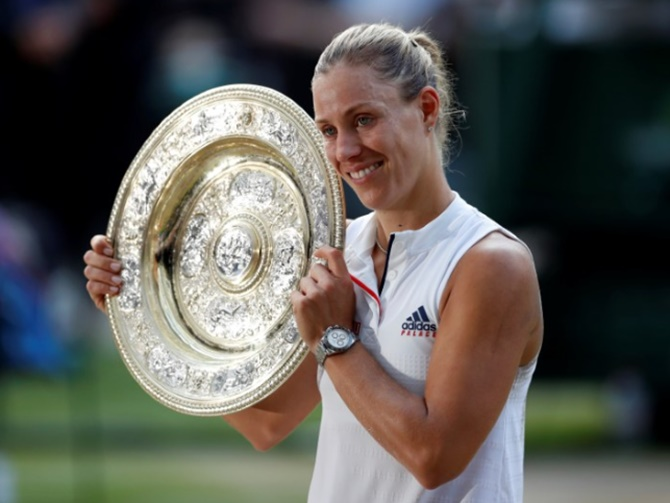 Rediff Sports - Cricket, Indian hockey, Tennis, Football, Chess, Golf - Here's a complete list of Wimbledon women's singles champions
