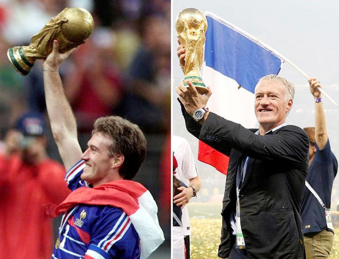Rediff Sports - Cricket, Indian hockey, Tennis, Football, Chess, Golf - Mental strength paid off for France: Deschamps