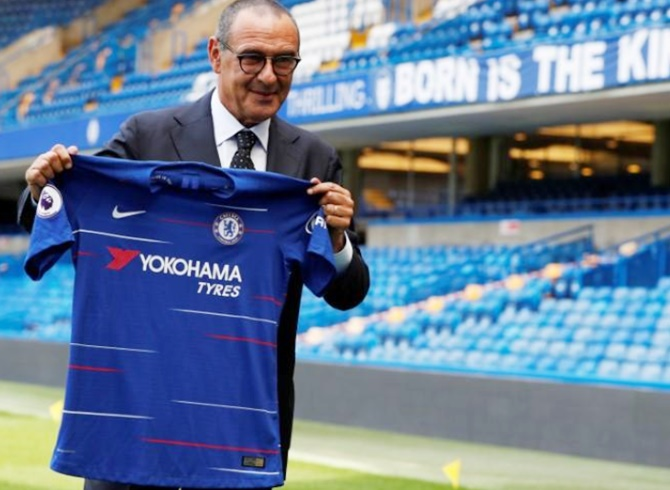 Rediff Sports - Cricket, Indian hockey, Tennis, Football, Chess, Golf - Football Briefs: Sarri just wants to have fun at Chelsea
