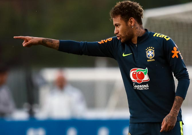 f80d67b95 Neymar on his way to Real Madrid  - Rediff Sports