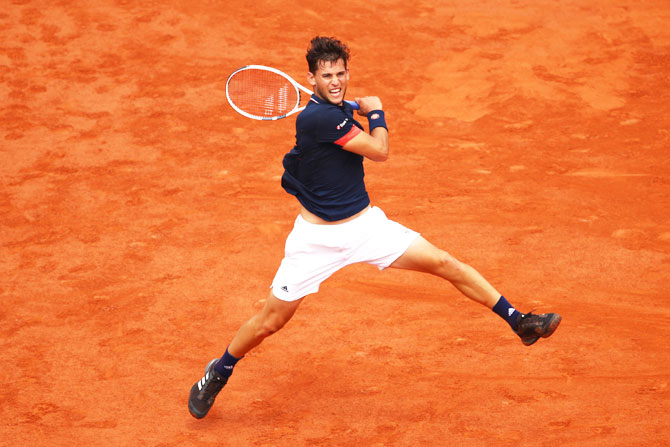 Dominic Thiem is the only player to have beaten Nadal on clay this year