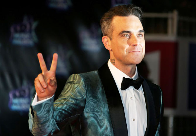 Pop star Robbie Williams will perform at the opening ceremony of the 2018 FIFA World Cup