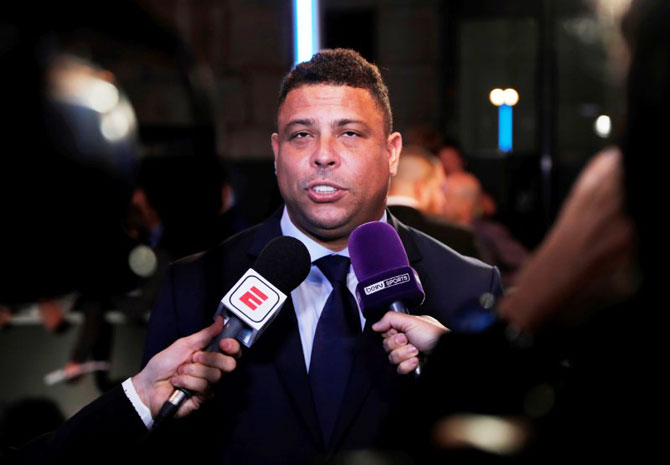 Former Brazil great Ronaldo backs his country to bring home the World Cup
