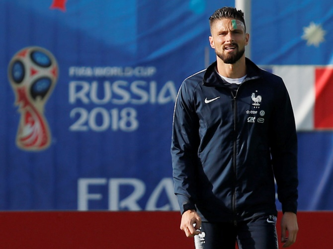 Rediff Sports - Cricket, Indian hockey, Tennis, Football, Chess, Golf - Never mind the goals, Giroud key to France's hopes