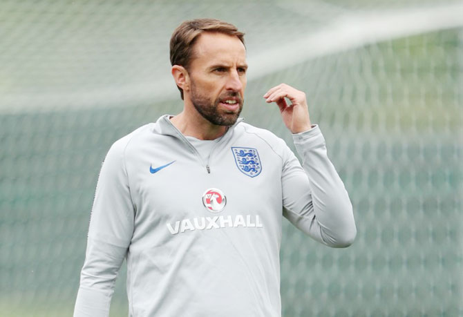 England football team manager Gareth Southgate