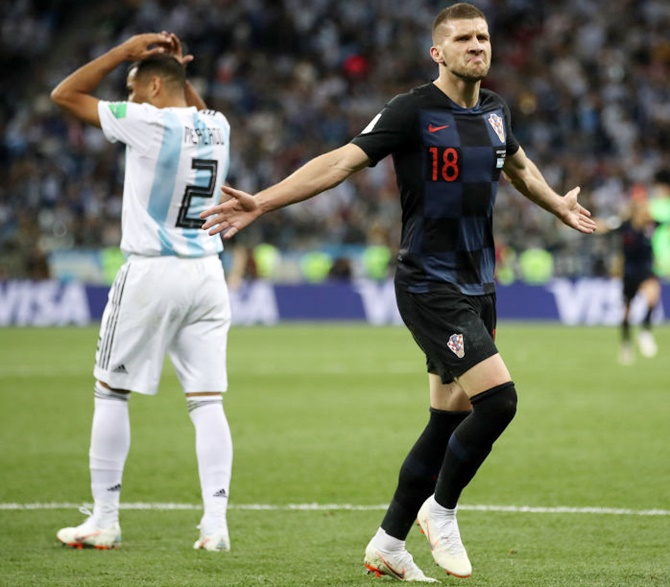 Rediff Sports - Cricket, Indian hockey, Tennis, Football, Chess, Golf - Why Rebic is perfect for Croatian counter