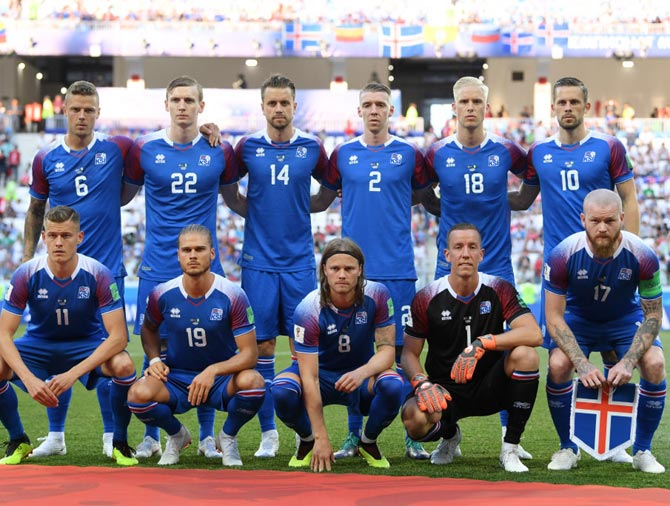 b807b5890e3 What Iceland need to do to progress to World Cup knockout round - Rediff  Sports