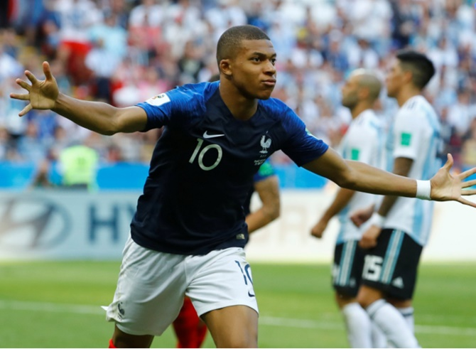 Last month, Mbappe helped finance a trip to Russia for a group of students from a local school, College Jean Renoir