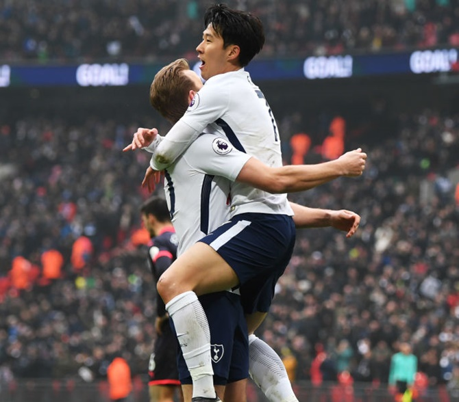 EPL: Son fires Spurs to victory; Mahrez earns Leicester a draw