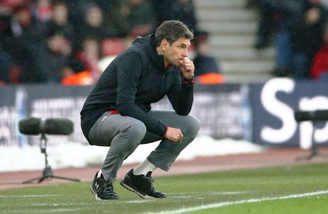 Southampton sacked manager Mauricio Pellegrino on Monday