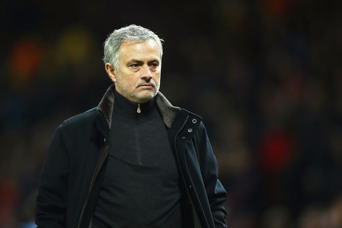 Rediff Sports - Cricket, Indian hockey, Tennis, Football, Chess, Golf - Mourinho's shocking comments after United's Champions League loss