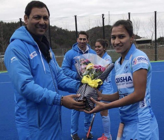 Rediff Sports - Cricket, Indian hockey, Tennis, Football, Chess, Golf - Rani to lead Indian women's hockey team at Commonwealth Games