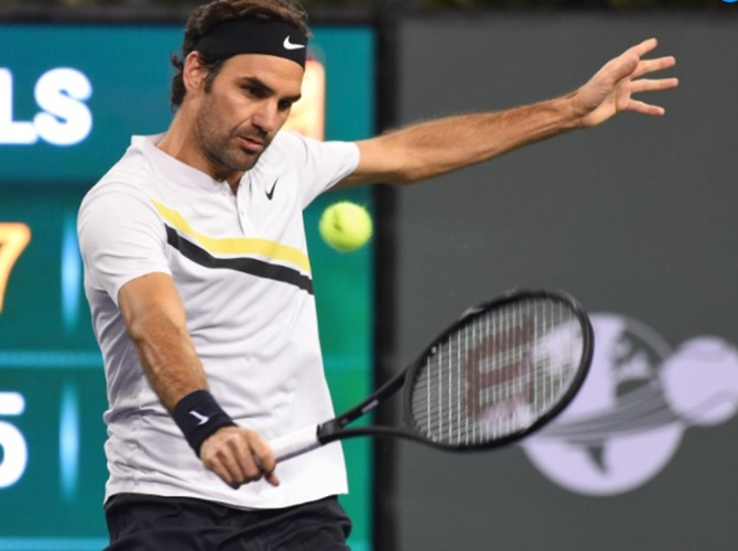 Rediff Sports - Cricket, Indian hockey, Tennis, Football, Chess, Golf - Indian Wells: Federer sends Chung packing, Venus in semis