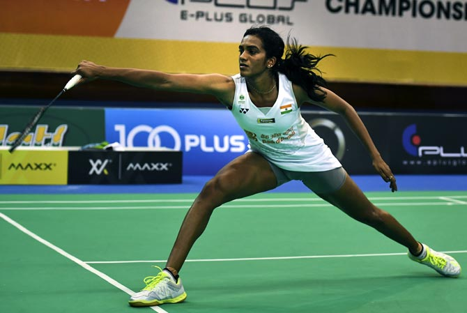 Rediff Sports - Cricket, Indian hockey, Tennis, Football, Chess, Golf - I have been working on my mental game: Sindhu