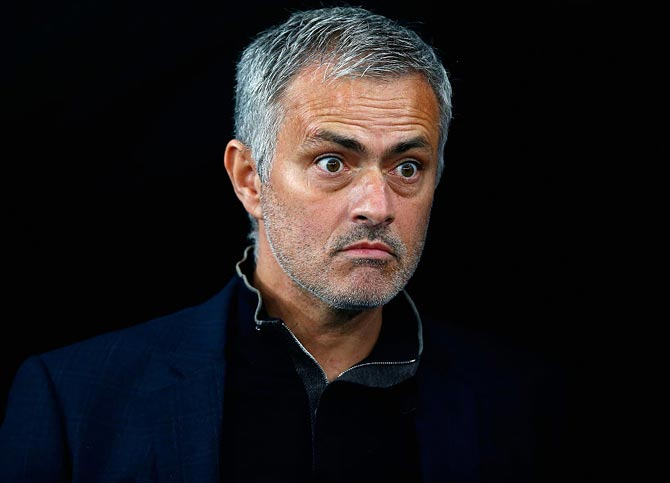 Rediff Sports - Cricket, Indian hockey, Tennis, Football, Chess, Golf - I am not going to run away or disappear or to cry: Mourinho