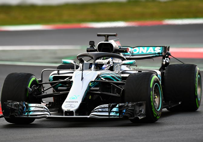 Rediff Sports - Cricket, Indian hockey, Tennis, Football, Chess, Golf - F1: Battling Bottas looks for a step up Down Under