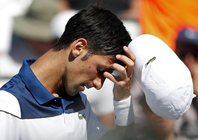 It's impossible at the moment,' says Djokovic after Miami