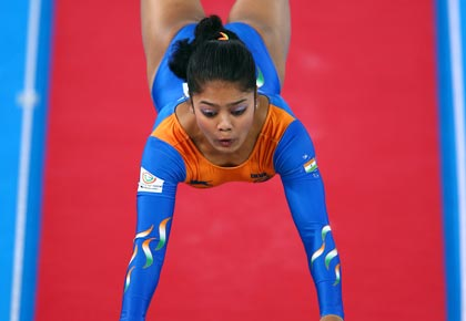 Gymnast Pranati looks to emulate Dipa at CWG
