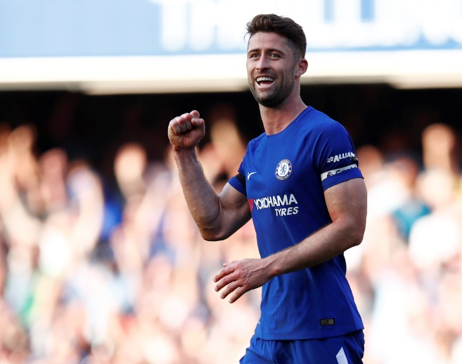 EPL: Cahill considers leaving Chelsea over lack of playing time
