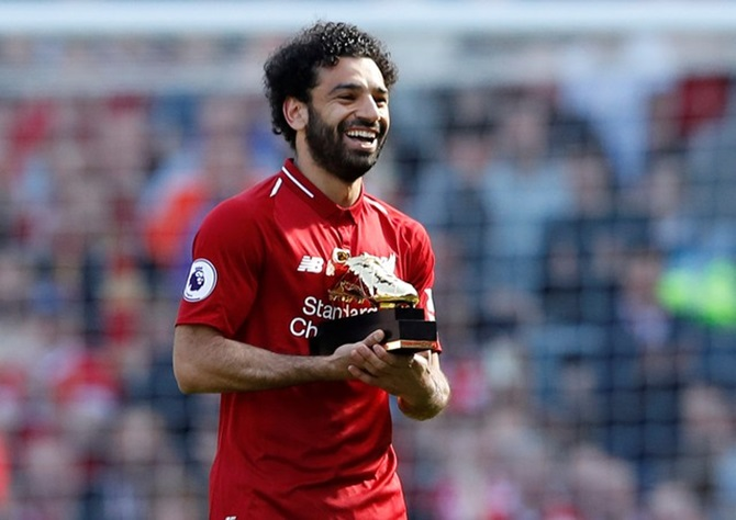 Manchester City, Salah break records as Liverpool take top-four spot
