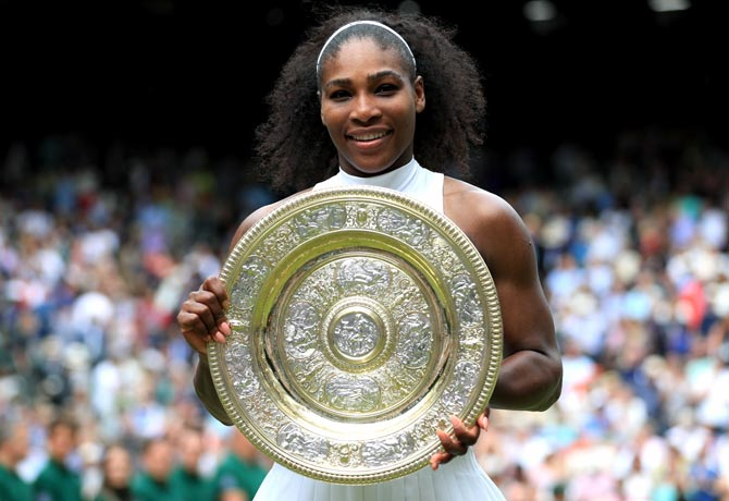 Rediff Sports - Cricket, Indian hockey, Tennis, Football, Chess, Golf - Serena could get Wimbledon seeding, despite French snub