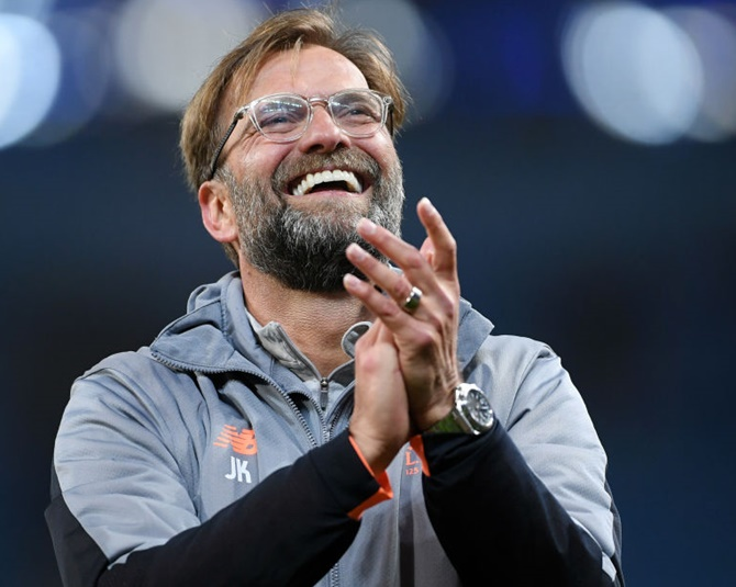 Rediff Sports - Cricket, Indian hockey, Tennis, Football, Chess, Golf - How Klopp's rousing speech inspired Liverpool