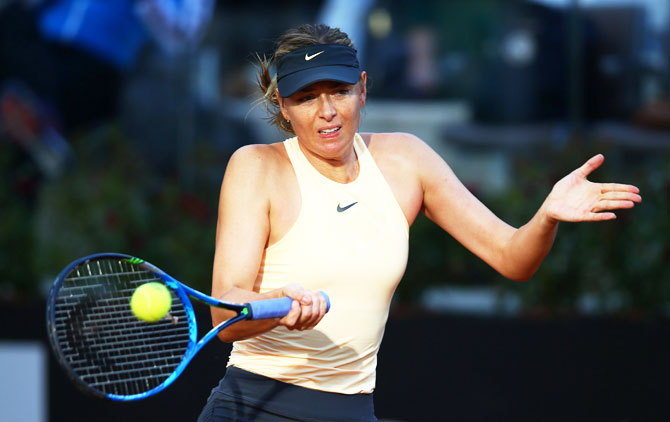 Rediff Sports - Cricket, Indian hockey, Tennis, Football, Chess, Golf - Sharapova will be fearless at French Open: Evert