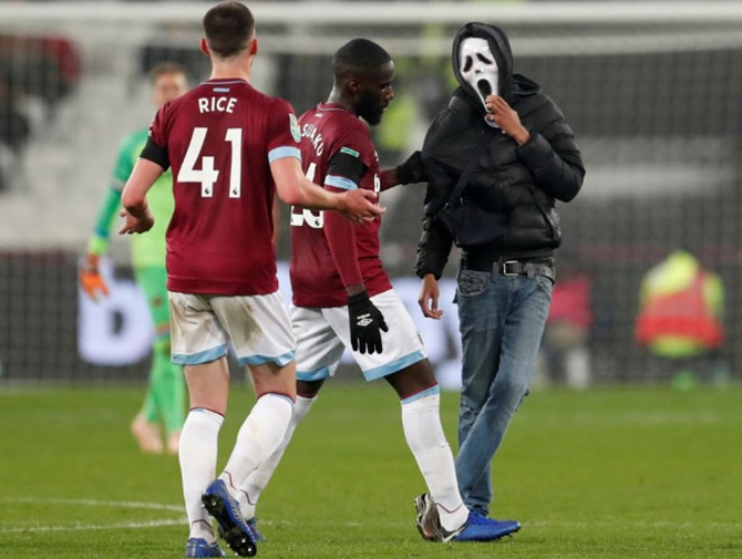 Beware pitch invaders!