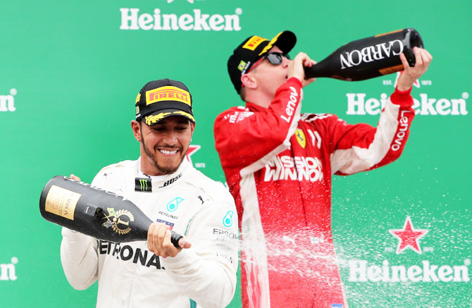 Rediff Sports - Cricket, Indian hockey, Tennis, Football, Chess, Golf - Is Hamilton better than Schumacher by miles?