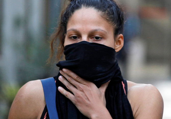 Rediff Sports - Cricket, Indian hockey, Tennis, Football, Chess, Golf - Delhi pollution choking boxers ahead of world championships