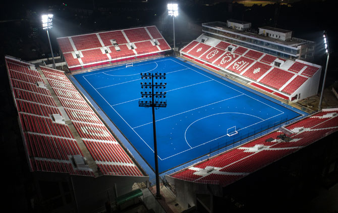 PIX: New-look Kalinga stadium ready to roll for Hockey World Cup