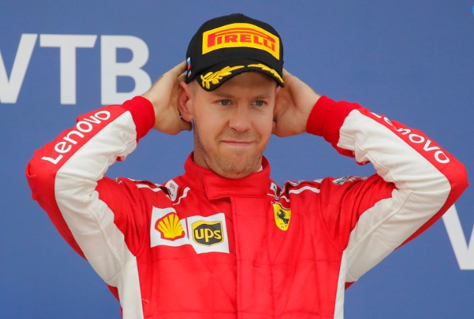 Rediff Sports - Cricket, Indian hockey, Tennis, Football, Chess, Golf - What Vettel must do to stay in F1 title race...