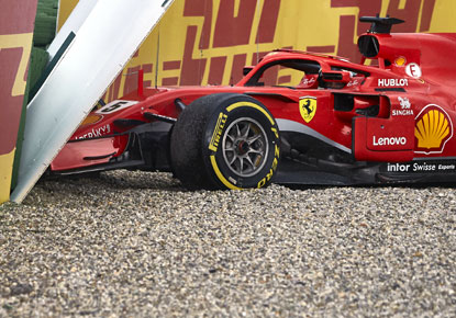 Rediff Sports - Cricket, Indian hockey, Tennis, Football, Chess, Golf - What went wrong for Ferrari's Vettel this season