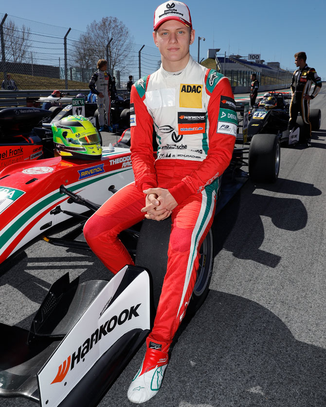 Rediff Sports - Cricket, Indian hockey, Tennis, Football, Chess, Golf - 'There will 100 percent be a Schumacher back in F1'