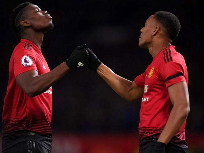 EPL PIX: French connection earns United win, Arsenal draw
