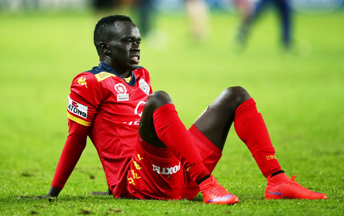 Rediff Sports - Cricket, Indian hockey, Tennis, Football, Chess, Golf - Former refugee Mabil senses new chance Aus soccer team
