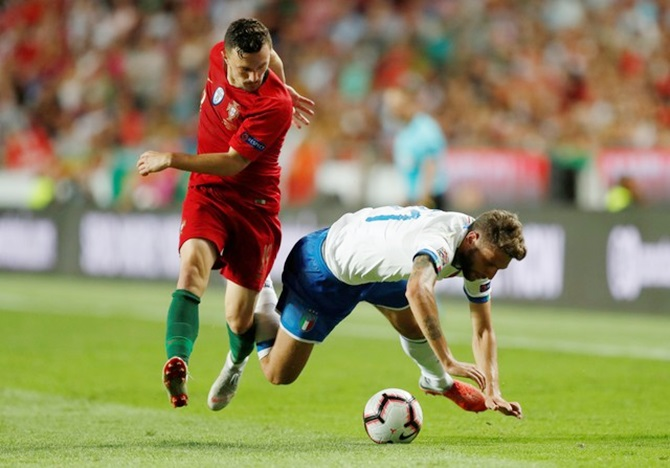 Rediff Sports - Cricket, Indian hockey, Tennis, Football, Chess, Golf - Nations League: Portugal give Italy's Mancini plenty to worry about