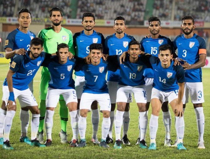 Rediff Sports - Cricket, Indian hockey, Tennis, Football, Chess, Golf - SAFF Cup: Lacklustre India suffer defeat against Maldives in final