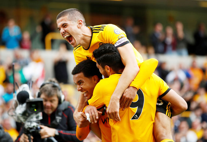 EPL: Wolves win 1-0 to stretch Burnley's losing run to four