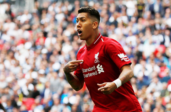 Rediff Sports - Cricket, Indian hockey, Tennis, Football, Chess, Golf - Champions League: Liverpool's Firmino still in doubt for PSG clash