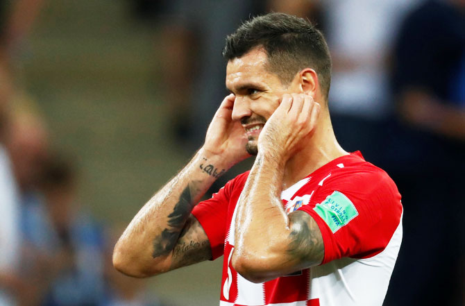 Rediff Sports - Cricket, Indian hockey, Tennis, Football, Chess, Golf - Football Briefs: Croatia charges Lovren with false testimony