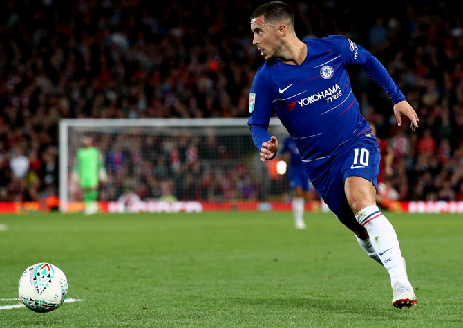 EPL Preview: Liverpool eye revenge but wary of 'genius' Hazard