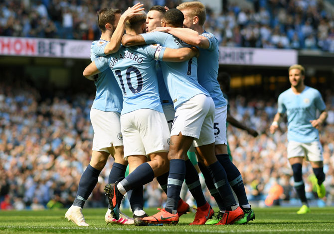 EPL: City back on top after tense win over Spurs