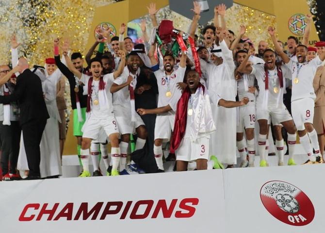 Qatar stun Japan to lift Asian Cup for first time