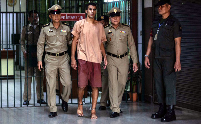 Rediff Sports - Cricket, Indian hockey, Tennis, Football, Chess, Golf - Why Thailand blames Australia for arrest of refugee Bahraini footballer