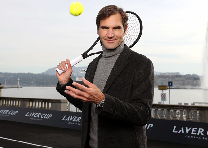 Federer chasing titles, not top ranking