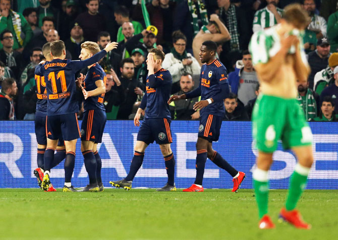 King's Cup: Valencia fight back against Betis