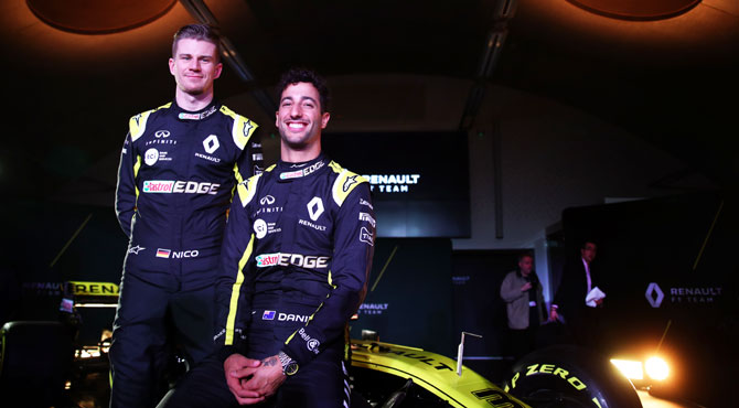 Rediff Sports - Cricket, Indian hockey, Tennis, Football, Chess, Golf - F1: Ricciardo inspired by Hamilton to do great things at Renault