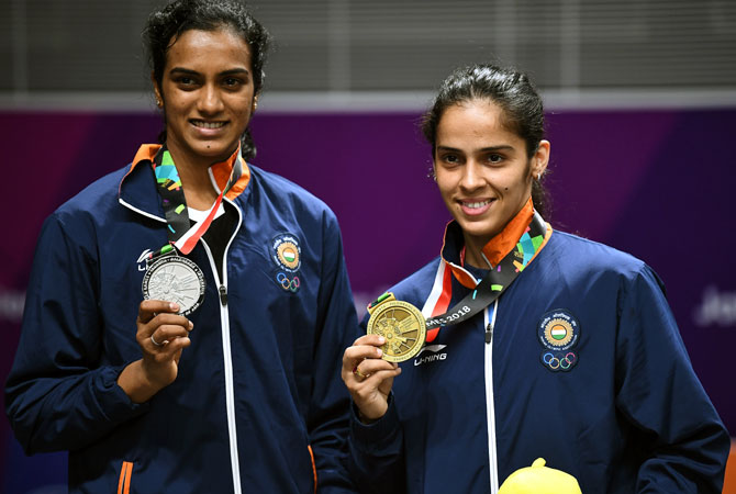 Rediff Sports - Cricket, Indian hockey, Tennis, Football, Chess, Golf - Tough draw for Saina, Sindhu at All England Championship